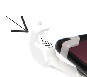 One clamp that fits all current smart phones