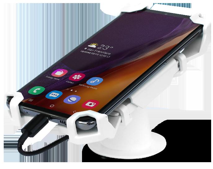 Open display security for smartphones